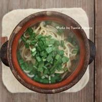 〆はやっぱり 鶏鍋ちゃんぽん - ふみえ食堂  - a table to be full of happiness -