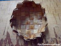 試作 自宅使いプラトークのための留め具 - ロシアから白樺細工