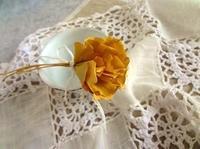 銀杏の落ち葉 - handmade flower maya