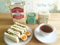 ポークの紅茶煮のサンドイッチ - Best Drop Tea Club