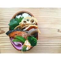 カボス風味の鮭BENTOと、ハーブオイル - Feeling Cuisine.com