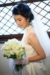 新郎新婦様からのメール ラ・ビュット・ボワゼ様の花嫁様より 誰よりも花嫁 - 一会 ウエディングの花