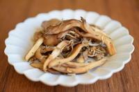 舞茸のジャコ炒め - 小皿ひとさら