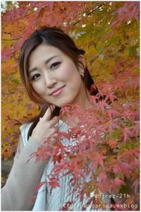 紅葉のロケーション♪♩ - caetla