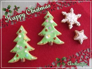 クリスマスアイシングクッキー♪ - 奈良の焼き菓子専門店 幸福スイーツ アルカイック