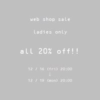 web shop sale! - clothing & furniture 『Humming room』