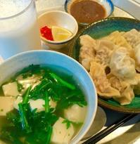 青菜と卵豆腐のスープ - れしぴこ的 無駄なあがきっ!