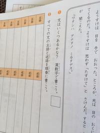 主語と述語 小2と小5のテキスト 四谷大塚 - わたし的日常☆東京☆おもちゃで幼児教育