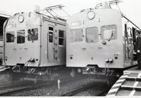 80年代 クモハ73 043とクモハ73 049の並び - 『タキ10450』の国鉄時代の記録