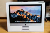 iMac Retina 5K がやって来た - TOSが行く~徒然なるままの撮影記録~