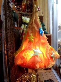 ☆オーガンジーのクリスマスツリーです☆ - ガジャのねーさんの  空をみあげて☆ Hazle cucu ☆