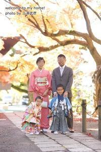 七五三◆注意!親も着物、私はコレで残念な写真が出来上がりました。 - welcome to my home!