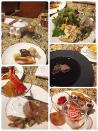 グランドハイアット 20周年記念 プレミアムディナービュッフェ - 美味しいものいっぱい