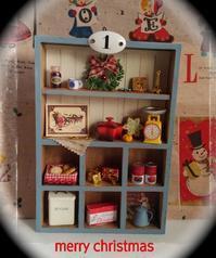 もうすぐクリスマス ミニチュアドールハウス シェルフ 2 - Toko*doll