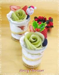 クリスマスに・・weckでフルーツショートケーキ☆ - パンのちケーキ時々わんこ
