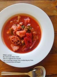 イエシゴトVol.182 【レシピつき】真っ赤なスープ・ボルシチ&大掃除リスト作り - YUKA'sレシピ♪