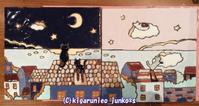 12/16、スペインタイル教室で二回めの塗る作業。 - 気軽に始めるイラスト!楽しもう~