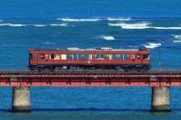 冬晴れの一日 - 今日も丹後鉄道