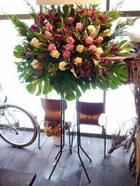 大学の演劇研究会の定期公演に。BLOCHにお届け。 - 札幌 花屋 meLL flowers
