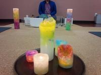 yogaとクリスタルボウル音の調べ*candle night* 終わりました。 - 宝塚でyogaを~Samatwa yoga主宰acoのブログ~