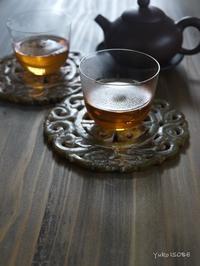 プーアール生茶2002'「プーアール茶の楽しみと春節の点心」@はじまりのカフェ - お茶をどうぞ♪