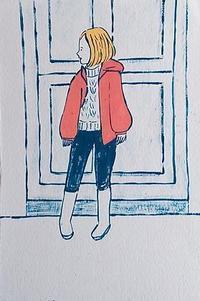 刈上げマッシュ - たなかきょおこ-旅する絵描きの絵日記/Kyoko Tanaka Illustrated Diary