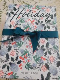 MY LITTLE BOX12月「Holiday BOX」 - 日々の雑記ノート