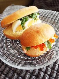 お寿司に負けない?! 15度のぜいたくサンドたち。 - パンある日記(仮)@この世にパンがある限り。