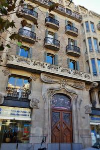 Gran Viaの建物めぐり6 - gyuのバルセロナ便り  Letter from Barcelona
