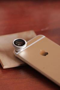 携帯電話用魚眼レンズ - クローバーのデサイン工房