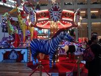 置地廣場(ザ・ランドマーク)のクリスマスデコレーション2 - 香港貧乏旅日記 時々レスリー・チャン