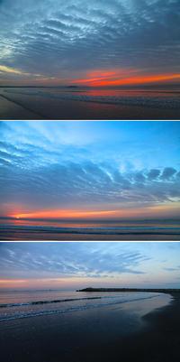 2016/12/20(TUE) 今朝の海辺はこんな感じでした。 - SURF RESEARCH