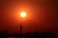 28年12月の富士 番外編 ダイヤモンド富士 - 富士への散歩道 ~撮影記~