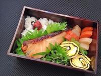 12/21 たらの味噌マヨ焼き弁当 - ひとりぼっちランチ