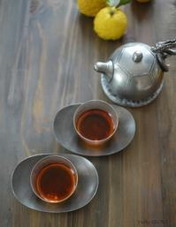 プーアール生茶2014'「プーアール茶の楽しみと春節の点心」@はじまりのカフェ - お茶をどうぞ♪