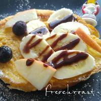 フレンチトーストの朝ごパン - 料理研究家ブログ行長万里  日本全国 美味しい話