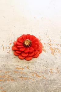 フェルト刺繍作品制作過程~No3 パーツの仮組み立て~ - ビーズ・フェルト刺繍作家PieniSieniのブログ