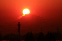 28年12月の富士 番外編 ダイヤモンド富士Ⅱ - 富士への散歩道 ~撮影記~