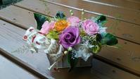 生徒さん作品☆ギフトに - お花とマインドフルネスな時間 ~花工房GreenBell~