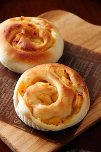 りんごとおいものくるくるパン (パン・スイーツ部門) - Takacoco Kitchen