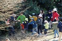 ★クリスマスリースづくり(2016.12.3&17)の報告 - 葛西臨海公園・鳥類園Ⅱ