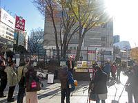 アルタ前街頭トーク 差別・排外主義に反対 秋葉原ヘイトデモを許すな - ムキンポの exblog.jp