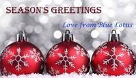 Happy Holidays! - Blue Lotus