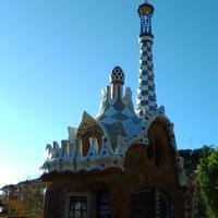 Park Guell ガウディの家 - Boa's middle life