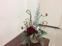 クリスマスバスケット☆ - Flower Days ~yucco*のフラワーレッスン&プリザーブドフラワー~