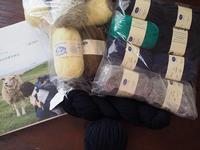 Vネックのフェアアイルセーター - ペコラの編みもの
