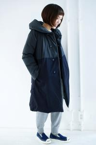 GRANDMA MAMA DAUGHTER Long down jacket - titicaca & '61→online shop blog
