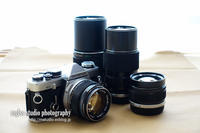 Olympus OM-2の試写 - mglss studio photography