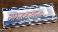 TOMIX 9171 JR EF81形電気機関車(81号機・お召塗装) 入線 - 鉄道模型の小部屋