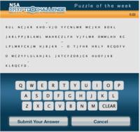 NSAのパズルでシギントデビューしよう。クリスマスは正規表現を。 <自由部門> - チャーリーのブログ